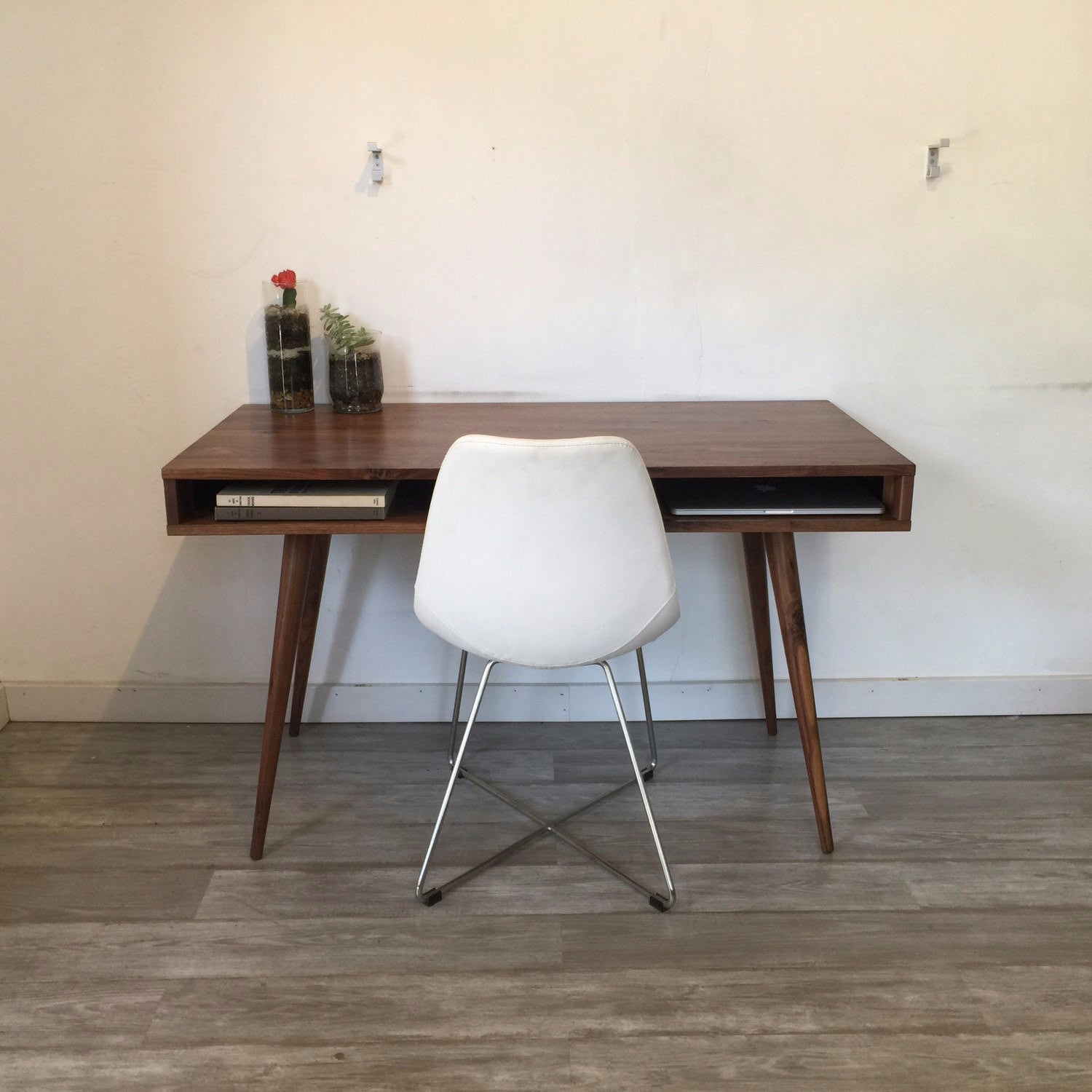 Open Mid Century Modern Desk - JeremiahCollection - 3