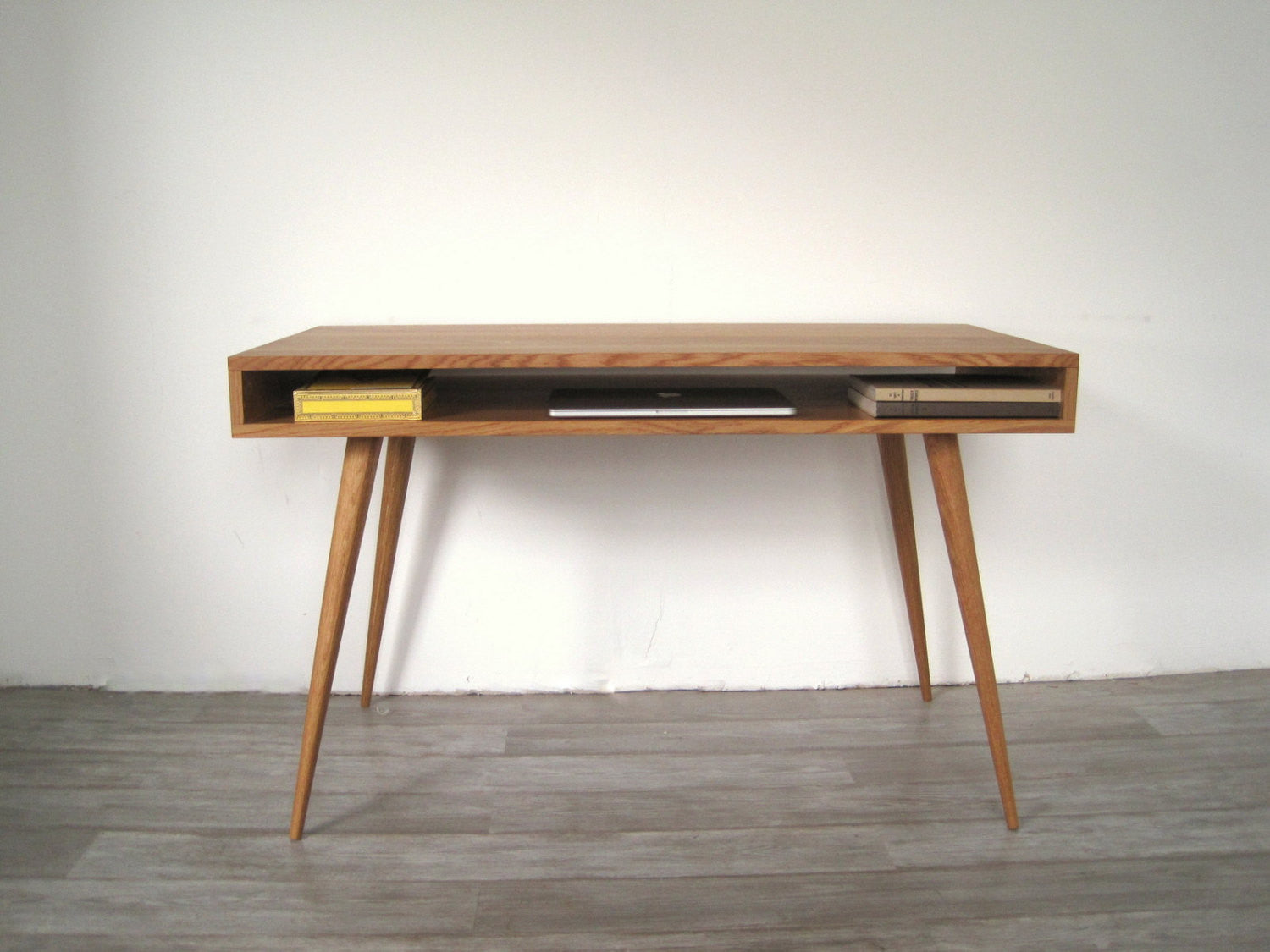 Open Mid Century Modern Desk - JeremiahCollection - 5