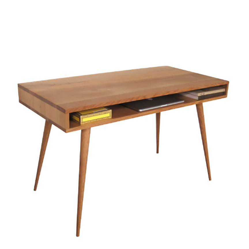 Open Mid Century Modern Desk - JeremiahCollection - 2