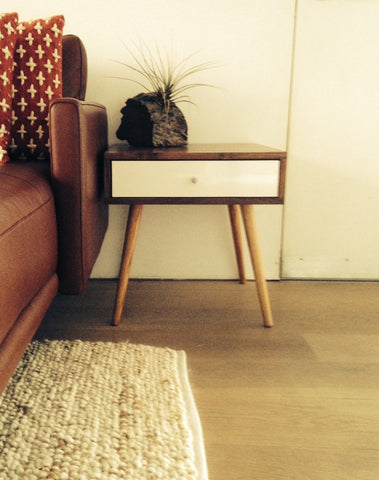 Mid Century Side Table With Drawer - JeremiahCollection - 1
