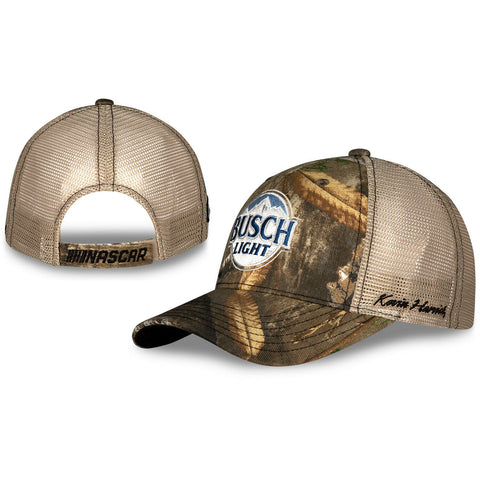 Kevin Harvick Busch Light Realtree Camo Mesh #4 NASCAR Hat