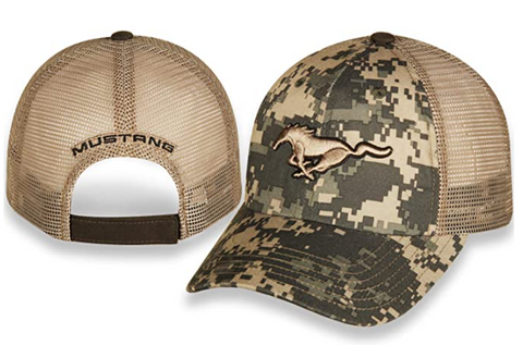 Ford Mustang Digital Camo Running Horse Adjustable Hat