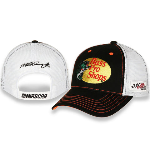 Martin Truex Jr. #19 NASCAR 2021 Vintage Sponsor Trucker Mesh Adjustable Hat