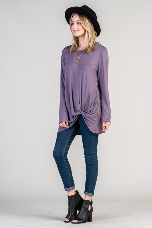 Addicted to Love Knotted Tunic - The Laguna Room