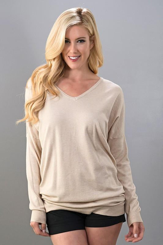 Take It Or Leave It Sweater Tunic - The Laguna Room