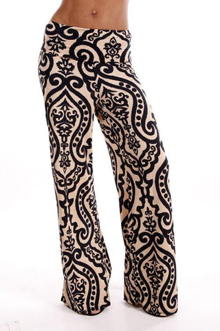 Black Magic Gold Sequin Pants