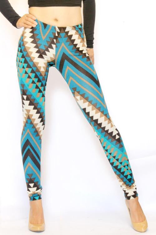 The Return Chevron Leggings - The Laguna Room