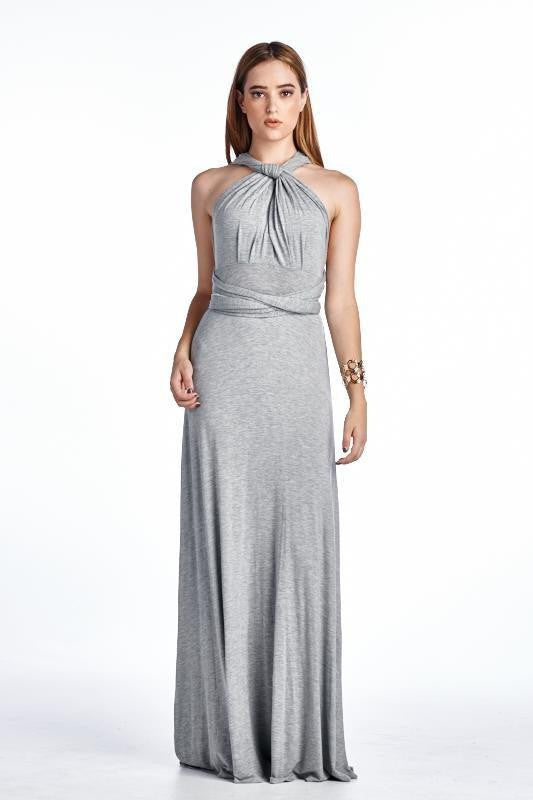 Down Under Multi Way Wrap Maxi Dress - The Laguna Room