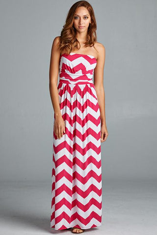 79bc50f2 Keep Them Coming Strapless Chevron Maxi Dress. $ 14.99. $ 49.99. Heart Like  Mine Strapless Sequin Dress