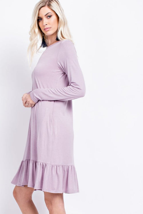Pretty Things Lavender Dress - The Laguna Room