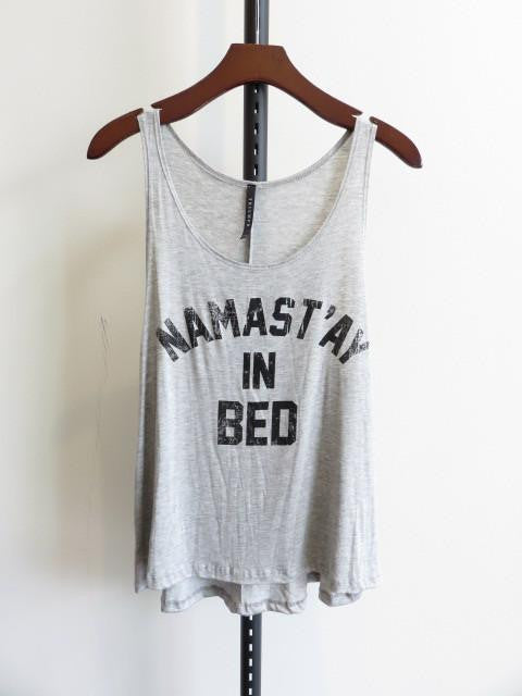 Mirror Mirror Namastay Burnout Tank Top - The Laguna Room