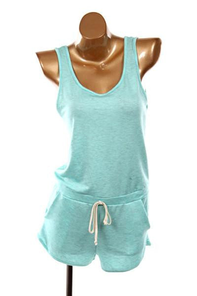 Sing For Me Mint Romper - The Laguna Room