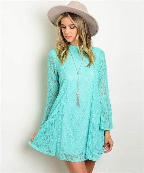 Boho Sunshine Lace Dress - The Laguna Room