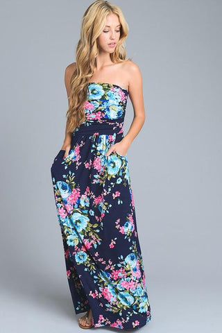 Wildcat Floral Maxi Dress The Laguna Room