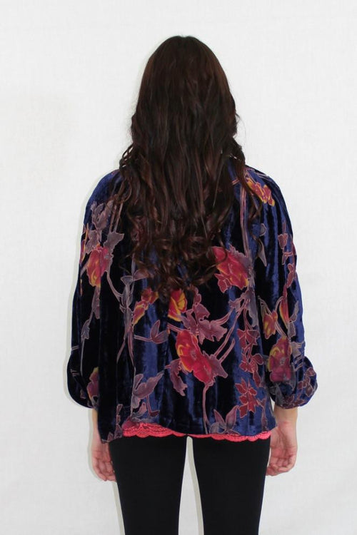 The Score Velvet Cardigan - The Laguna Room