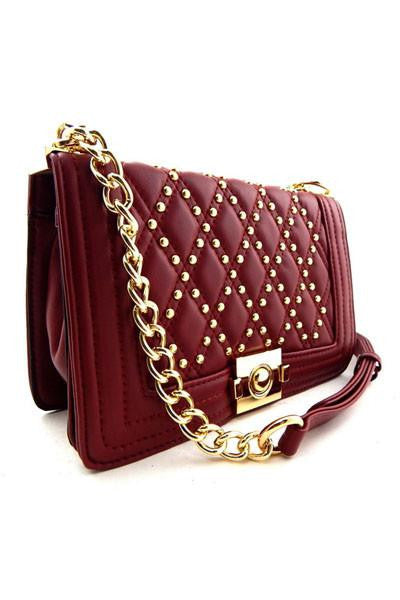 The Glow Gold Chain Mini Bag - The Laguna Room