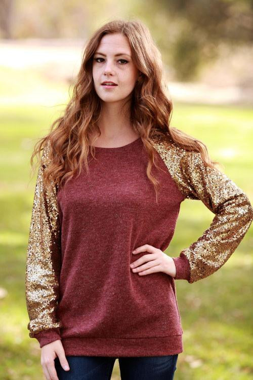 Anything Goes Sequin Sweater - The Laguna Room