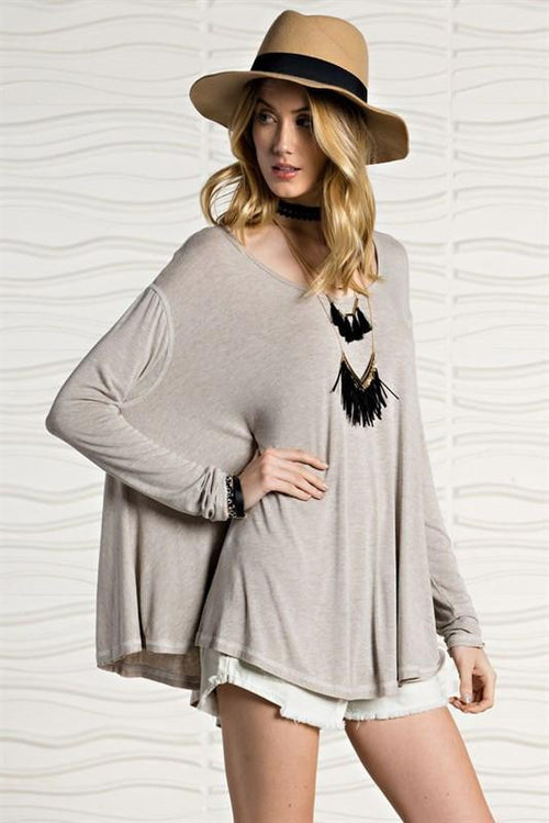 Formation Oversized Swing Tunic Top - The Laguna Room