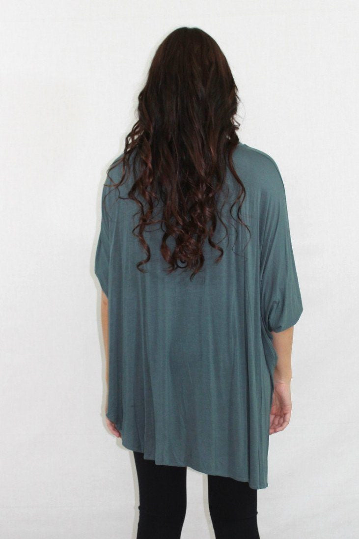 Just in Time Blue Tunic - The Laguna Room