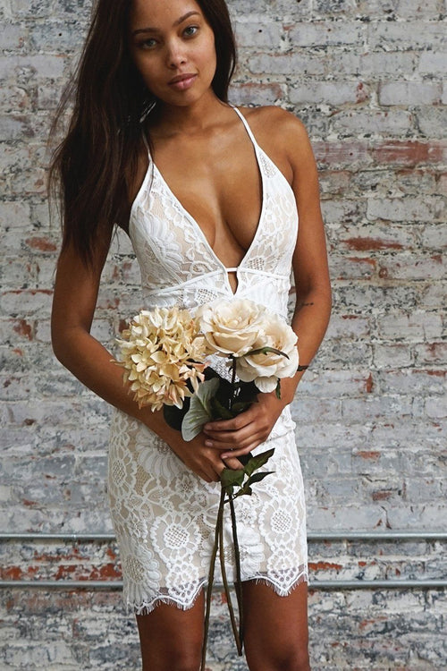 Say I Do Lace Dress - The Laguna Room