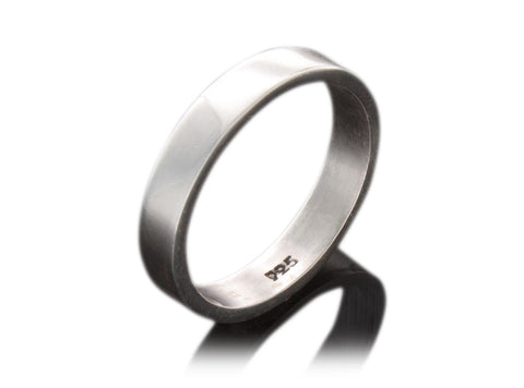 .925 Sterling Silver - Plain Band