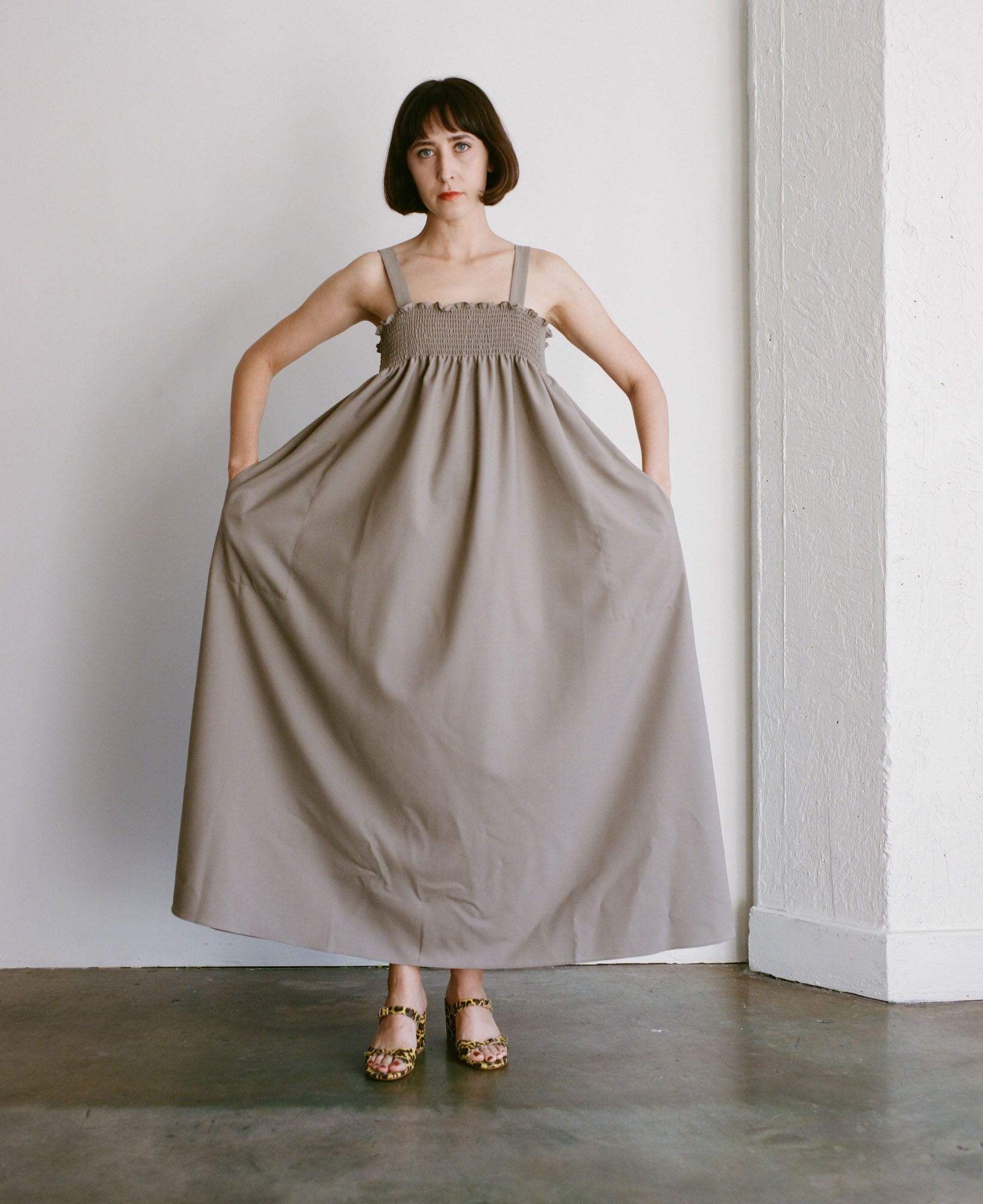Shaina Mote Pyrenees Dress in Sage