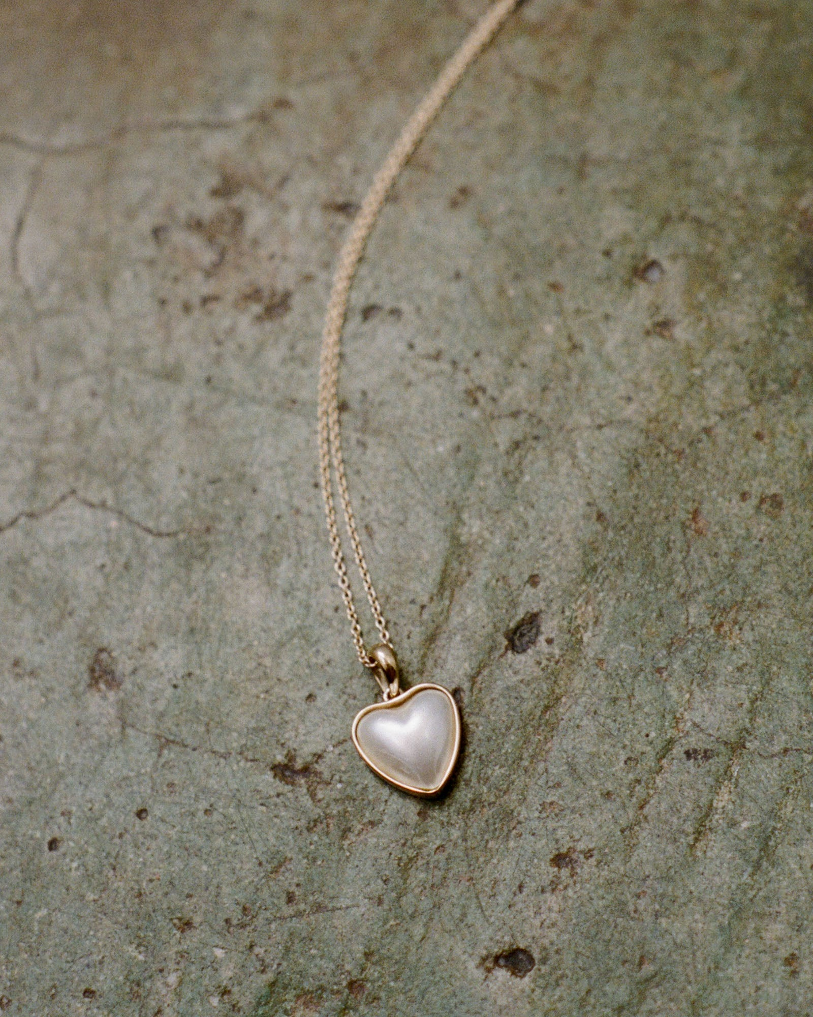 J. Hannah Heart Mabé Pearl Pendant Necklace