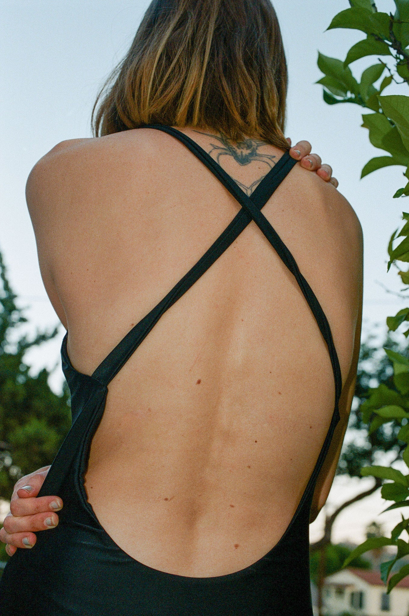Shaina Mote Dip One-Piece in Onyx