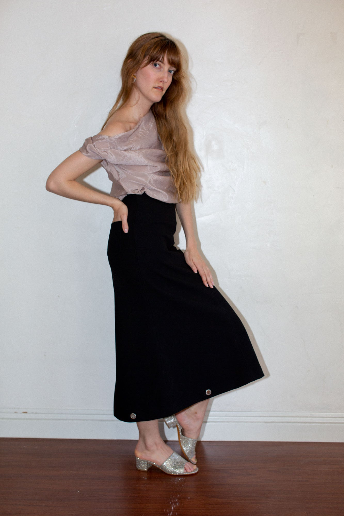 Paris Georgia Everyday Skirt in Black