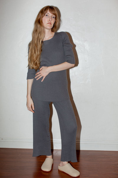 Lauren Manoogian Column Pants in Shale