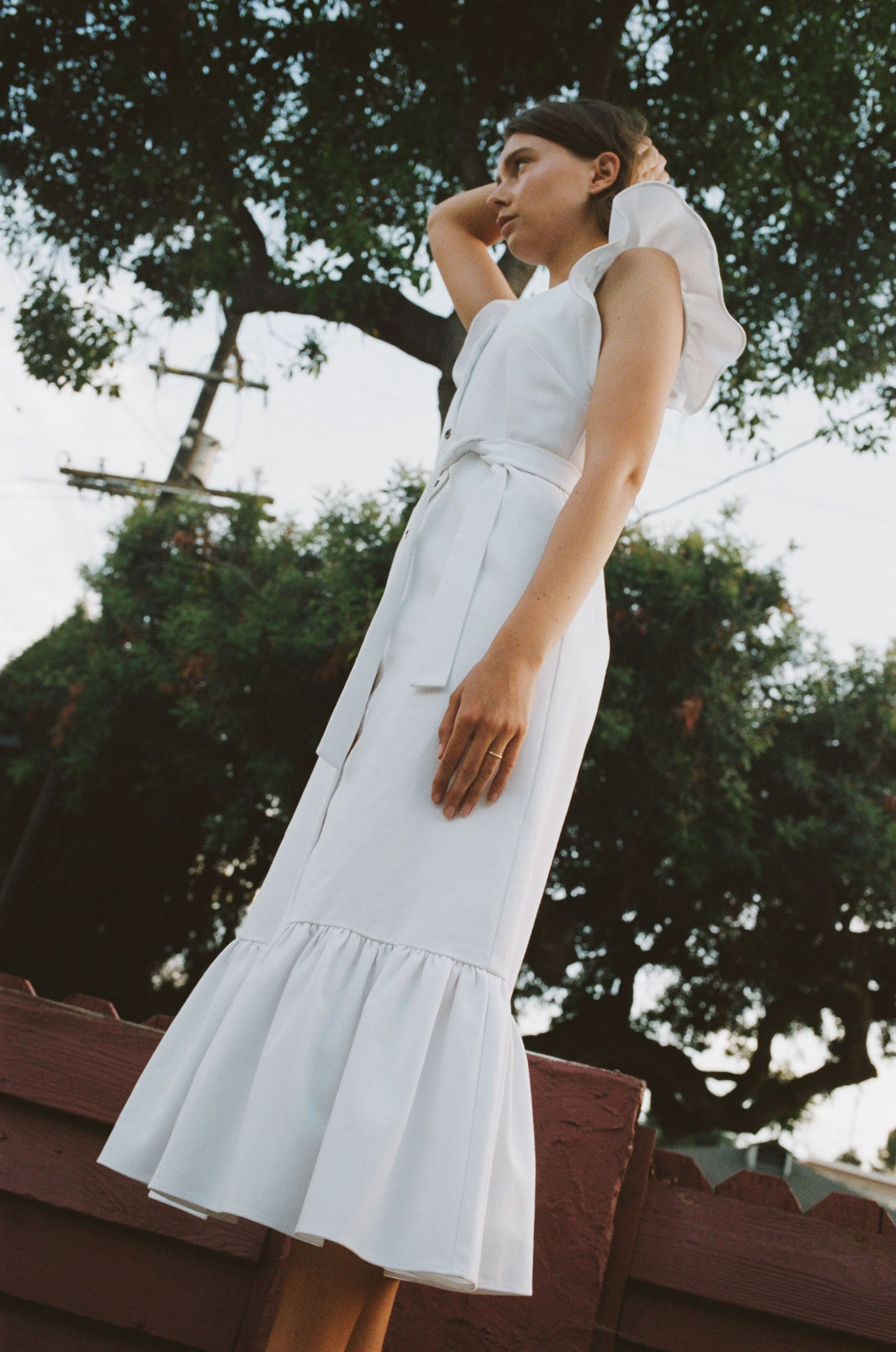 No.6 Aiden Dress in White