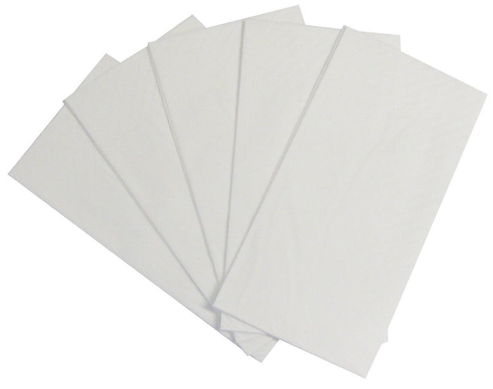 Napkins 2 Ply Dinner White Fold 100's Bnd *