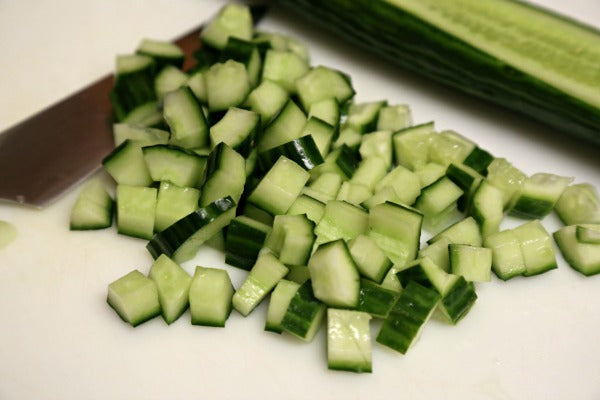 Add-On Cucumbers Diced 20mm 1kg