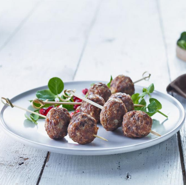 Meatballs Fully Cooked 1Kg Pkt