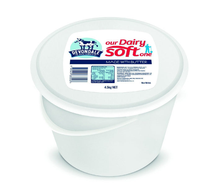 Butter Dairy Soft 4.5Kg Tub
