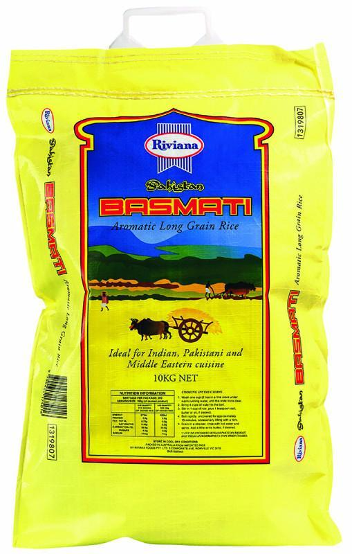 Rice Basmati 10Kg Bag