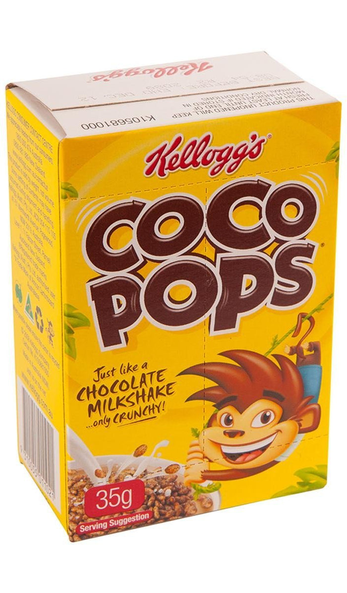 Cereal Coco Pops Portion Control 30x35Gr Ctn