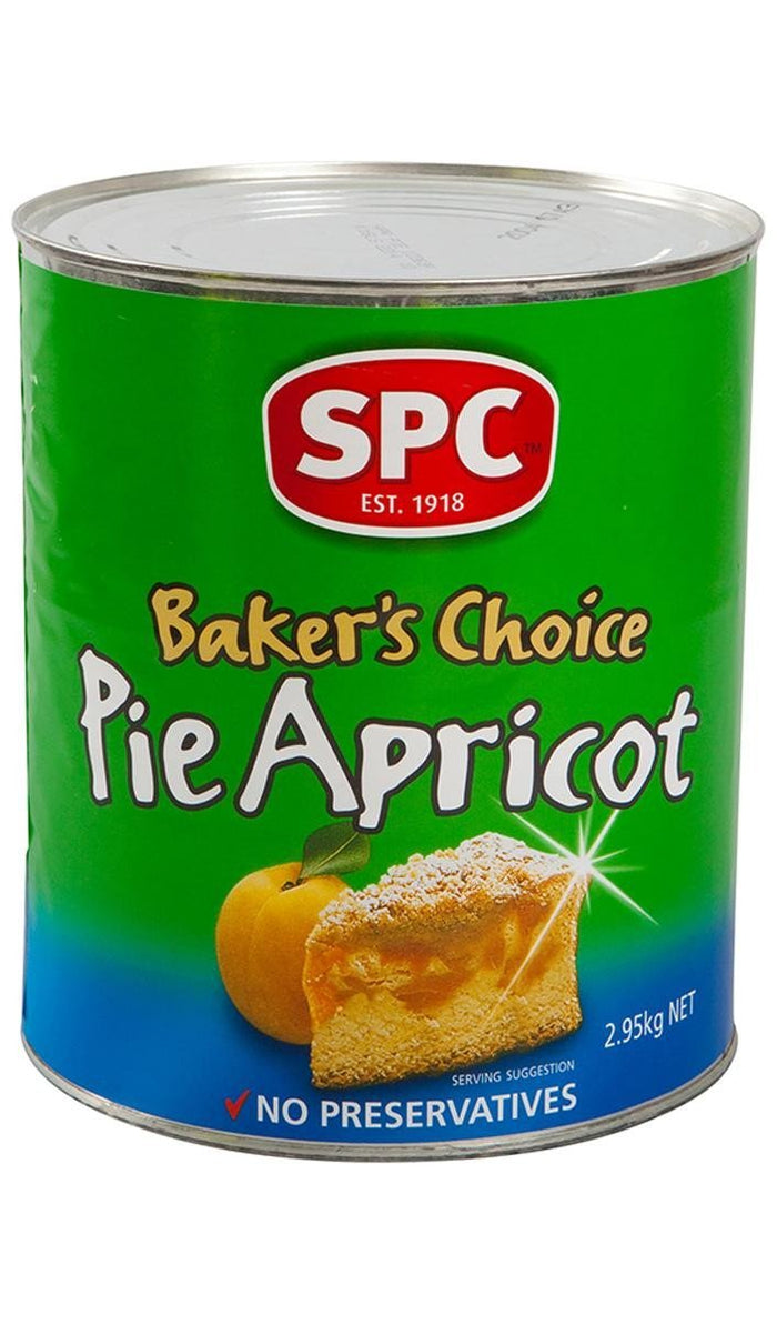 Pie Apricots Bakers Choice 2.95Kg Can
