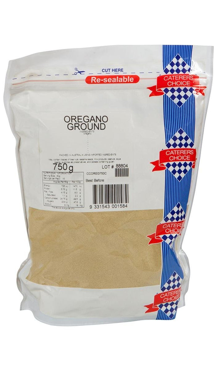 OreganoGround 750Gr Pkt