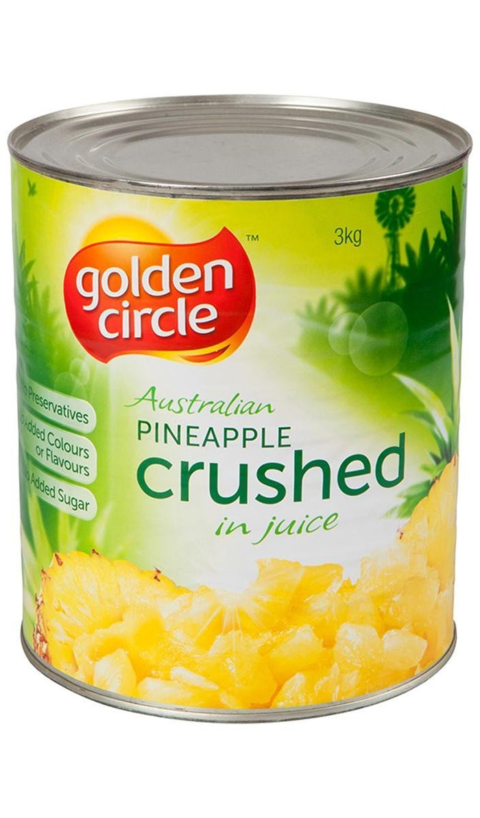 Pineapple Crushed Natural Juice 3Kg Can