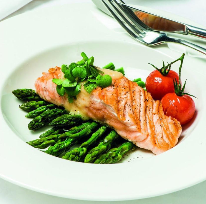 Salmon Portions Raw Skinless 200gr 5Kg Ctn