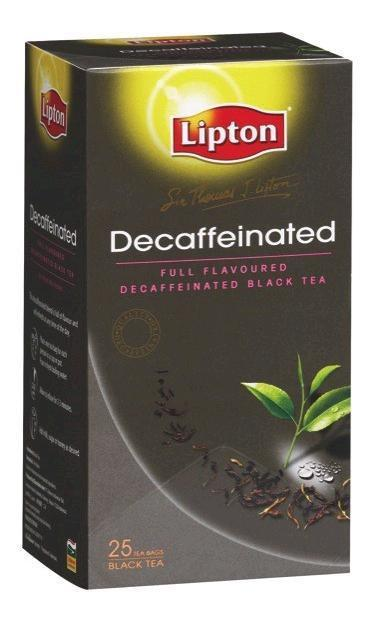 Tea Bags Envelope Decaffeinated 25's Pkt