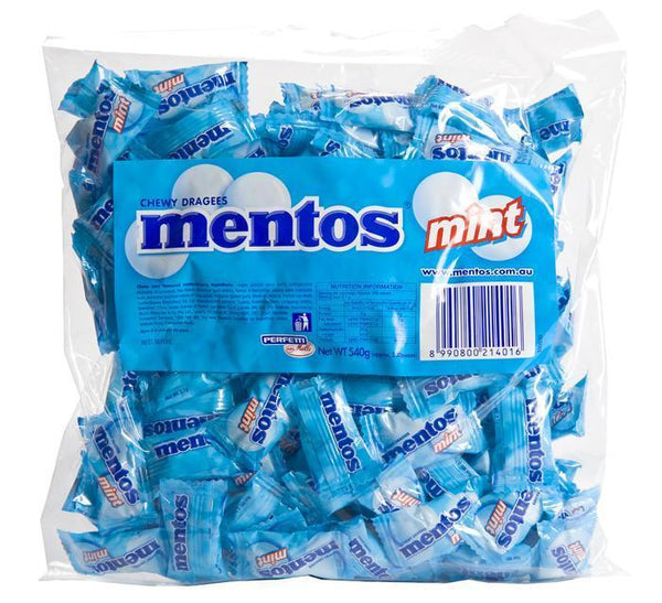 Mentos Pillow Pack Mint 200's Pkt *