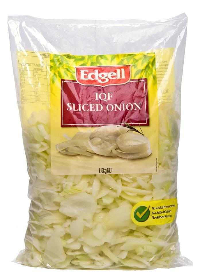 Onions Sliced 1.5Kg Pkt