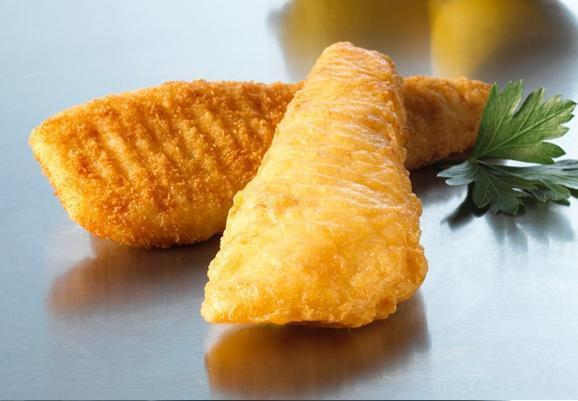 Fish Battered Skinless Captains Catch 24x110gr Ctn