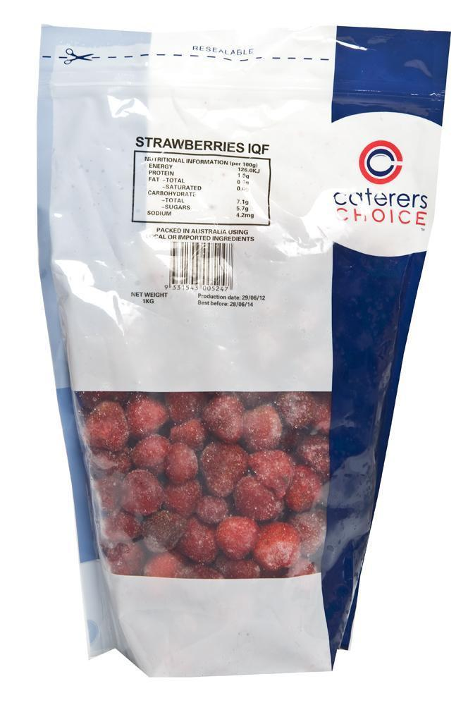 Strawberries IQF 1Kg Bag