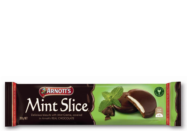 Biscuits Chocolate Mint Slice 200Gr Pkt  *