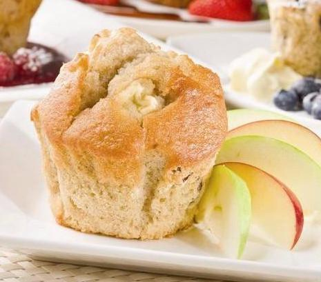 Muffins Apple 6x150gr Tray  *