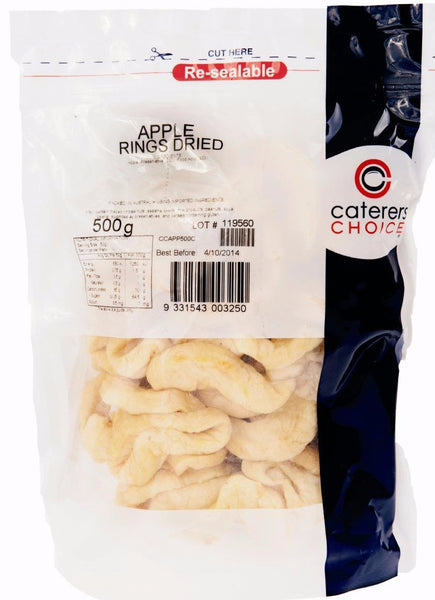 Apple Dried 500Gr Pkt