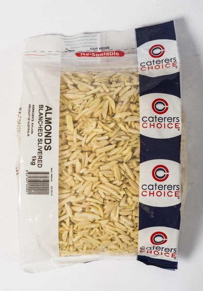 Almonds Slivered 1Kg Pkt